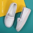 新款平底白色舒適可愛護士鞋女軟底防滑透氣不累腳防臭夏季款 【端午節特惠】