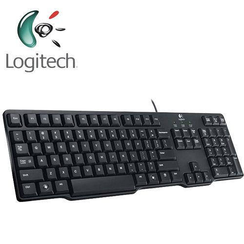 全新 新 羅技 K100 經典有線鍵盤 ( PS/2 接頭 ) / 防濺灑設計 / 輕巧、節省空間設計