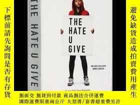 二手書博民逛書店英文原版罕見黑暗中的星光 電影《你給的仇恨》原著 The Hate U Give Movie Tie-In Edi