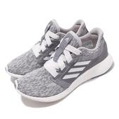 【五折特賣】adidas 慢跑鞋 Edge Lux 3 W 灰 白 女鞋 Bounce 中底 運動鞋【ACS】 BB8051