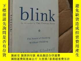 二手書博民逛書店blink:the罕見power of thinking wit