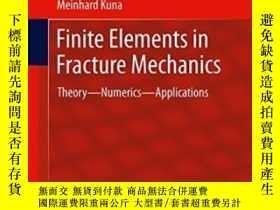 二手書博民逛書店Finite罕見Elements In Fracture Mec