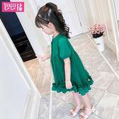 618好康鉅惠公主裙純棉洋氣裙子時尚夏季韓版兒童連身裙