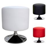 【頂堅】高級精緻PU皮革椅面-工作椅/洽談椅/化妝椅/餐椅-三色可選紅色