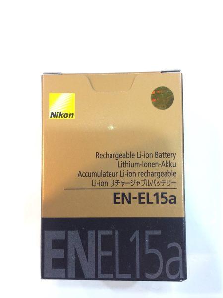 【第二代】NIKON EN-EL15a 原廠電池 全新 完整盒裝 D750 D800 D800E D810 D7200 D7100