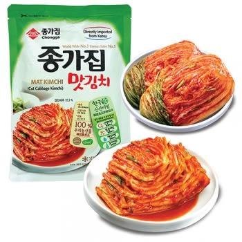 韓國泡菜-宗家府500g 白菜系列隨意組(任選四包/組)