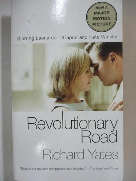 【書寶二手書T5/原文小說_C4T】Revolutionary Road_Yates, Richard
