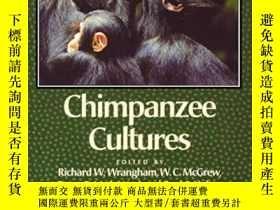 二手書博民逛書店Chimpanzee罕見CulturesY255562 Richard W. Wrangham Harvard