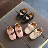 秋季女童公主鞋子兒童單鞋小童女寶寶學步鞋小單皮鞋0-1歲秋款