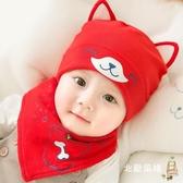 兒童帽秋冬 兒童帽子0-3-6-12個月男女寶寶帽子春秋季嬰幼兒秋冬新生胎帽秋天