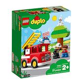 10901【LEGO 樂高積木】Duplo 得寶幼兒系列 - 消防車(21pcs)