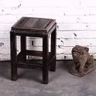 日式系列家具燒桐木仿古花架...