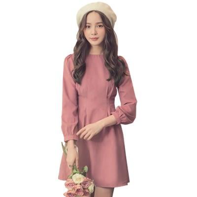 東京著衣【YOCO】喜酒不敗款收腰設計修身小洋裝-XS.S.M.L(172372)