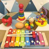 繞珠串珠兒童益智玩具一歲寶寶6-12個月嬰兒1-2-3周歲男女孩早教【店慶八八折】