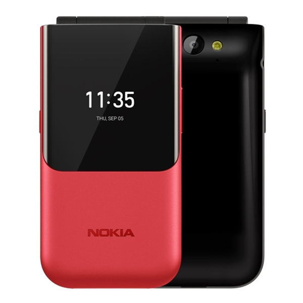 【恩霖通訊】NOKIA 2720 Flip 折疊式手機/雙螢幕/雙卡雙待/支援記憶卡/(512MB/4G)簡配