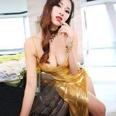 夜店洋裝 夜店性感洋裝新款修身顯瘦氣質晚禮服長款夜場女裝露背長裙 唯伊時尚
