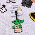 LEGO樂高 STAR WARS 星際大戰 尤達寶寶 人偶造型行李吊牌 掛飾吊飾 COCOS LG287