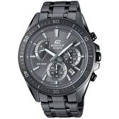 【人文行旅】EDIFICE | EFR-552GY-8AVUDF 冷艷科技灰賽車腕錶 CASIO 47mm