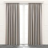 日式漸變遮光窗簾 寬200x高165cm 米色