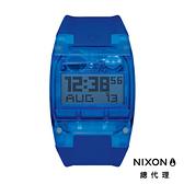 【官方旗艦店】NIXON COMP 運動電子錶 藍