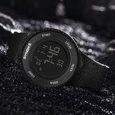 兒童錶 男士手錶防水夜光男孩女中學生青少年兒童鬧鐘多功能運動電子錶腕—全館新春優惠