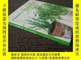 二手書博民逛書店A罕見Handful of Herbs: gardening,