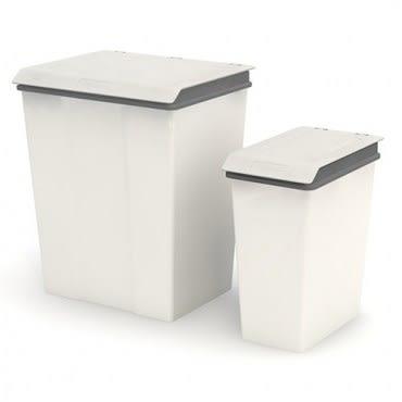 晨曦時尚垃圾桶(10L+28L) 2入-灰