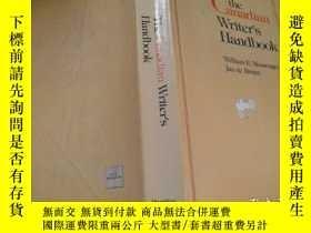 二手書博民逛書店the罕見Canadian Writer s HandbooY11966