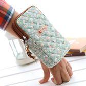 包包 跑步廣場大媽運動手腕包老人掛脖女孩包6寸蘋果678手機夏天便攜包