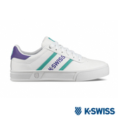 K-SWISS Court Lite Spellout時尚運動鞋-女-白/紫/綠