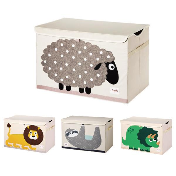 加拿大3 Sprouts 大型玩具收納箱(9款可選)【原廠公司貨】