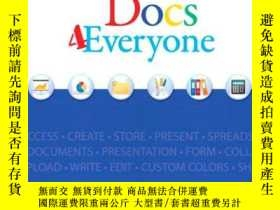 二手書博民逛書店Google罕見Docs 4 EveryoneY256260 Steve Holzner Que 出版200