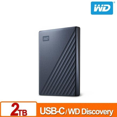 WD My Passport Ultra 2TB 星曜藍 2.5吋 USB Type-C 外接硬碟 WDBC3C0020BBL-WESN