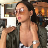 Chloe 墨鏡 CE130S 213 (玳瑁-金) 孫芸芸配戴款 金屬 大框 太陽眼鏡 久必大眼鏡