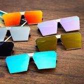 韓國潮流個性大框太陽眼鏡男女士墨鏡時尚 七夕節禮物
