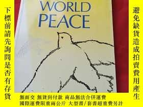 二手書博民逛書店THE罕見PROMISE OF WORLD PEACEY1790