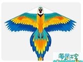 風箏 兒童新款大型風箏成人微風易飛初學者長尾大人專用風箏 線輪 【海闊天空】