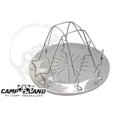 【速捷戶外露營】【CAMP-LAND】RV-ST240 不繡鋼烤麵包架.烤土司 生菜 鍋蓋架