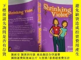 二手書博民逛書店shrinking罕見violet 縮紫..Y200392