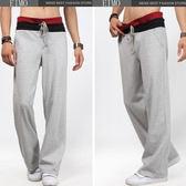 褲男褲 寬松褲純色長褲男裝  褲EIMO