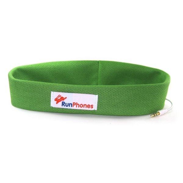 RunPhones運動耳機 - 綠色(M)