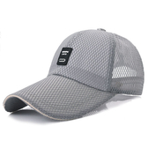 鴨舌帽-棒球帽 透氣戶外網帽子運動帽 遮陽帽【QG1007】