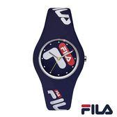 【FILA 斐樂】/造型LOGO錶(男錶 女錶 Watch)/38-185-002/台灣總代理原廠公司貨兩年保固