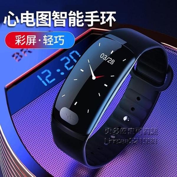 智慧運動手環監測手錶適用等手機多功能男女計步防水45代檢測儀【果果新品】