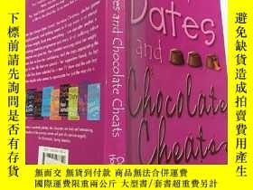 二手書博民逛書店mates罕見dates and chocolate cheats:伴侶約會和巧克力作弊Y200392