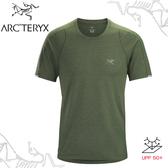 【ARC TERYX 始祖鳥 男 Cormac快乾短袖圓領衫《葉綠》】15518/短袖T恤/運動衫/透氣/吸濕排汗/登山/跑步