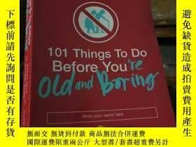 二手書博民逛書店101罕見Things To Do Before Youre O