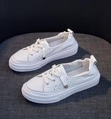 小白鞋女2019新款休閒百搭潮鞋夏季透氣板鞋夏款女鞋白鞋