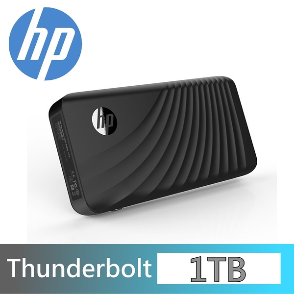 HP P800 1T Thunderbolt 外接式SSD USB3.0 Type-C 1TB