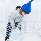 韓國兒童南瓜造型毛線帽童帽